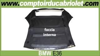 Capote, cappotta per BMW-E36 (pvc, alpaca)