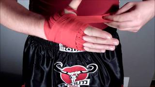Bandes de boxe Extra Round K-1 Kick Boxing Full contact muay thai WGP world max