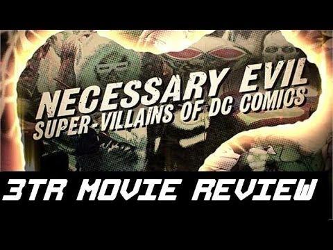 Necessary Evil: Super-Villains of DC Comics - Movie Review