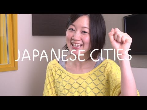 Japanese Words - Japanese Cities (Việt Sub)