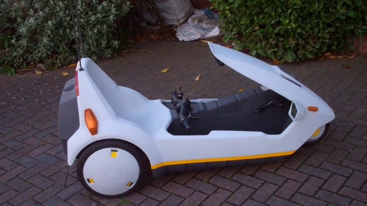 Sinclair C5 Electric Cars Youtube