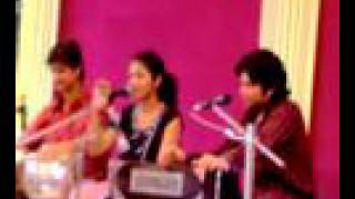 AMI JE TOMAR sung by ANWESHA at Golfgreen