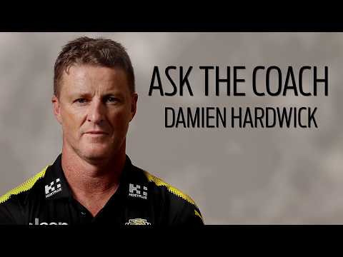 2018 Ask The Coach Series - Damien Hardwick Richmond