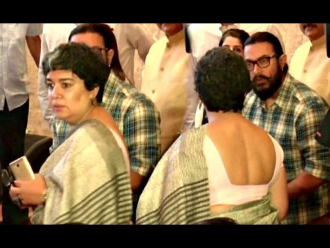 Aamir Khan Ex First Wife Reena Dutta Caught Ignoring Aamir Khan - Full Video