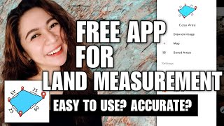 [ENG SUB] EASY AREA | FREE MOBILE APP FOR ACCURATE LAND MEASUREMENT via GOOGLE MAPS screenshot 5