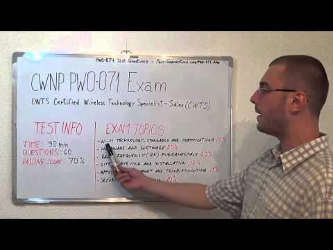 PW0-071 Test Questions Exam PDF Answers