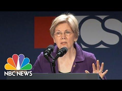 Senator Elizabeth Warren: 'Donald Trump Is A Mitch McConnell Candidate'   NBC News
