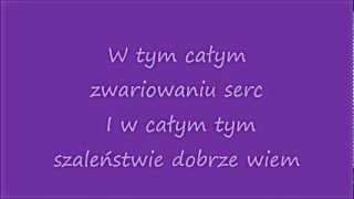 Ewelina Lisowska - W stronę słońca +tekst.