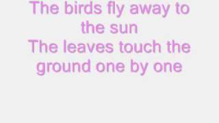 the summer is over dusty springfield with lyrics