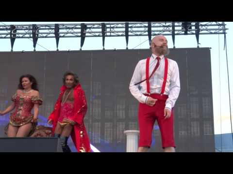 Army of Lovers - Lit de parade  (live @ We Love the 90's, Helsinki 27-08-2016)