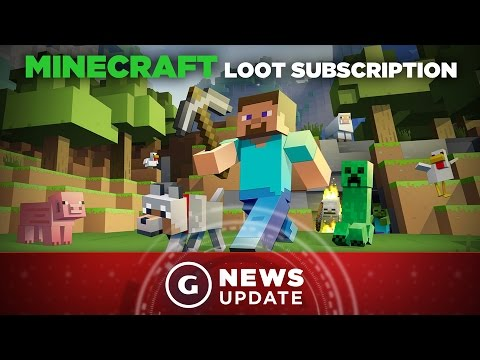 Minecraft Getting Loot Crate-Like Delivery Service - GS News Update