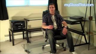 Buy A Glass Chair Mat - Attractive Lifetime Solution - Myglassmat.com