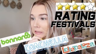 rating the most popular music festivals *the truth about what's overrated*