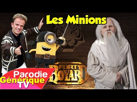 Les Minions parodient le générique de Fort Boyard