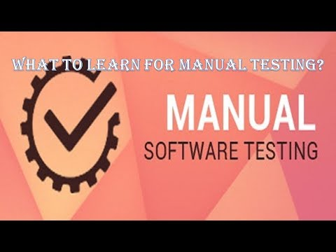 Manual Testing Syllabus|What To Learn For Manual Testing?|G C Reddy|