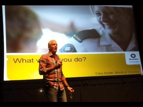 """What Would You Do?"" with Dr Tony Smith"