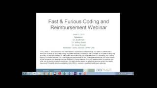 Fast & Furious Coding and Reimbursement Q&A