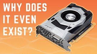 "Nvidia GTX 1050 3GB aka ""Ti Lite"" - Just Why Nvidia?"