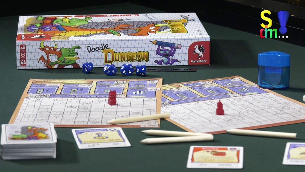 Spiel doch mal DOODLE DUNGEON! - Brettspiel Rezension Meinung Test #368