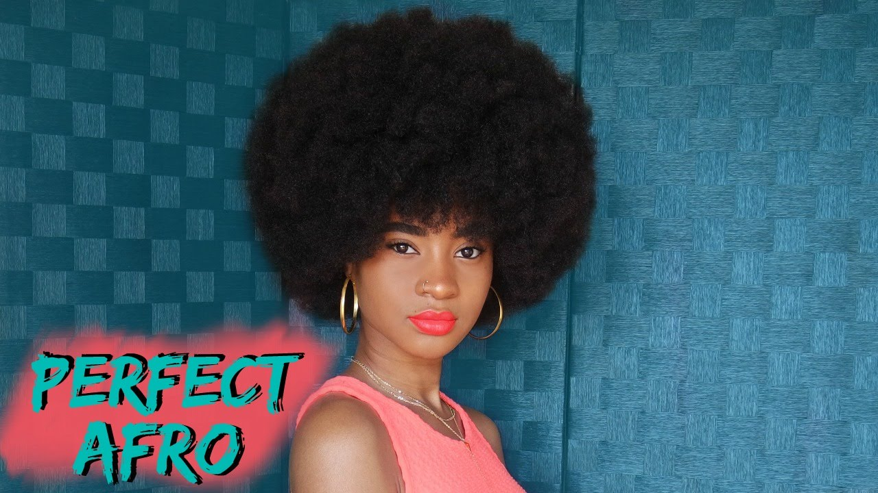 how to make an afro