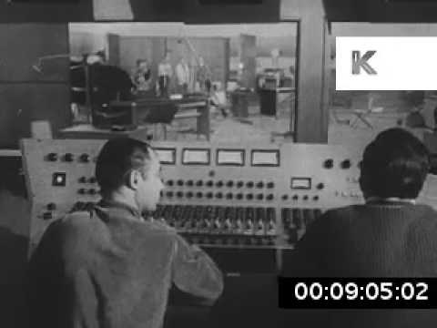 1960s USA Recording Studio, Sound Engineers