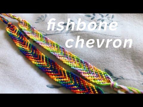 Fishbone Chevron Bracelet Tutorial! (beginner)