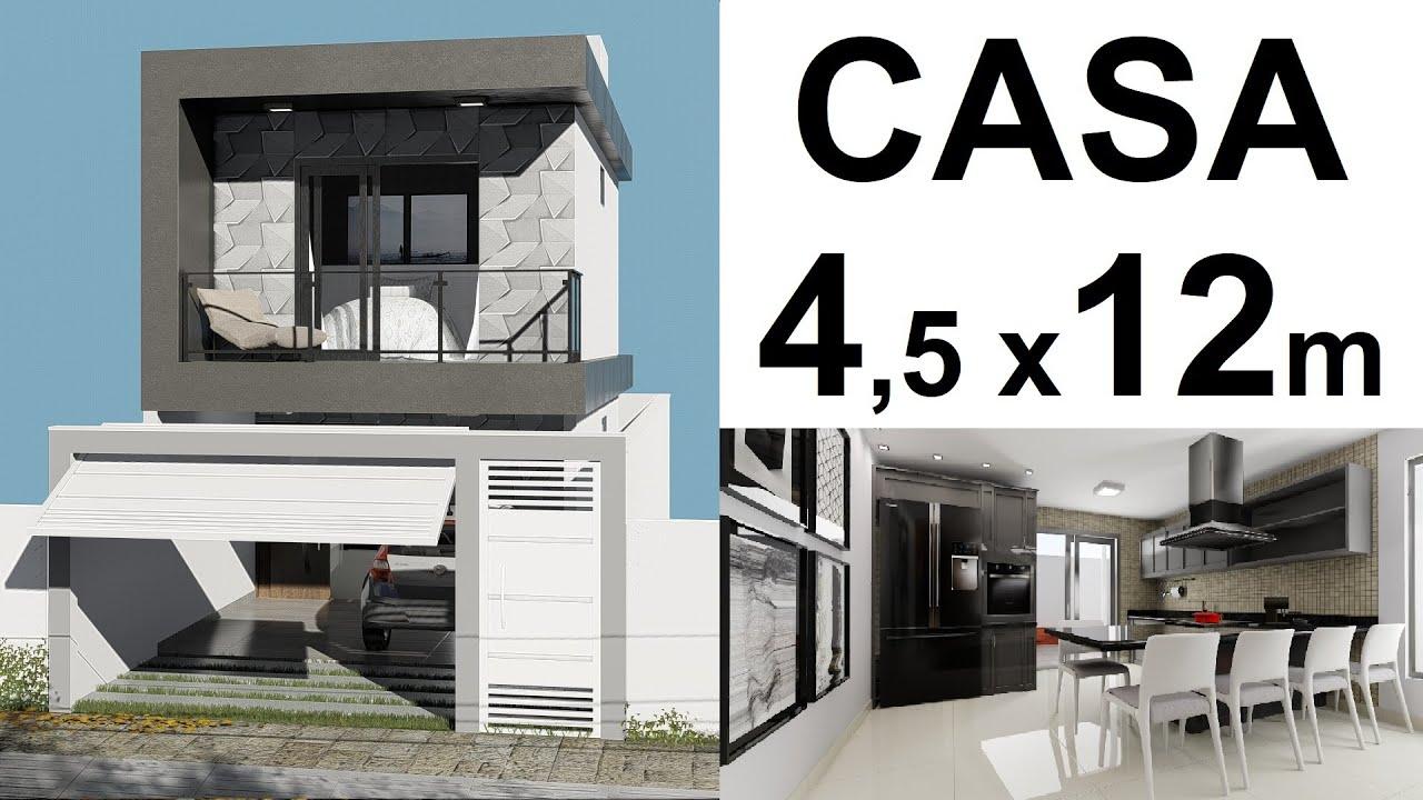 Download CASA DE 4,5 x 12 metros - ÁREA CHURRASCO