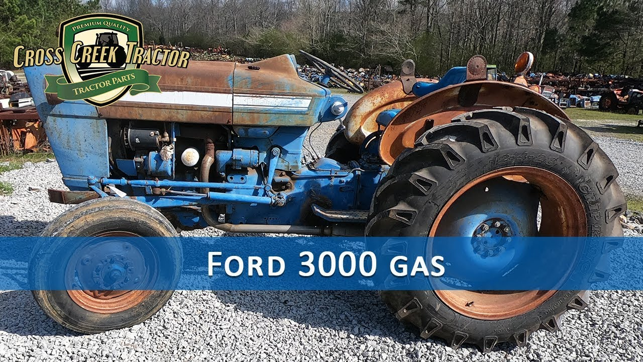 hight resolution of ford 3000 gas tractor parts youtube ford 3000 gas tractor wiring harness
