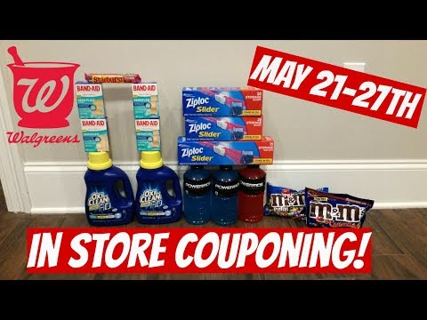 WALGREENS IN STORE COUPONING 5/21/17-5/27/17! CHEAP SHAMPOO/ZIPLOCS/BAND AIDS & MORE!