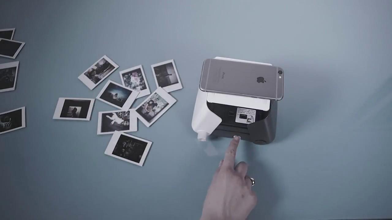 Kiipix Impresora Fotográfica Youtube