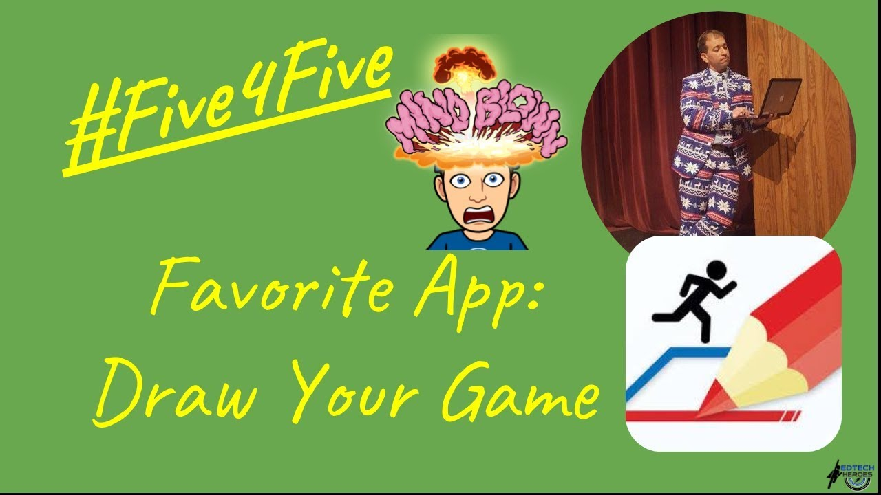 Five4five Favorite App Is Draw Your Game Youtube