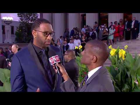 Hall Of Fame Ceremony: Tracy McGrady Interview || NBA || Sep, 8th 2017