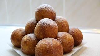 Вкуснейшие творожные пончики