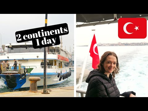 EUROPE and ASIA in one day ISTANBUL