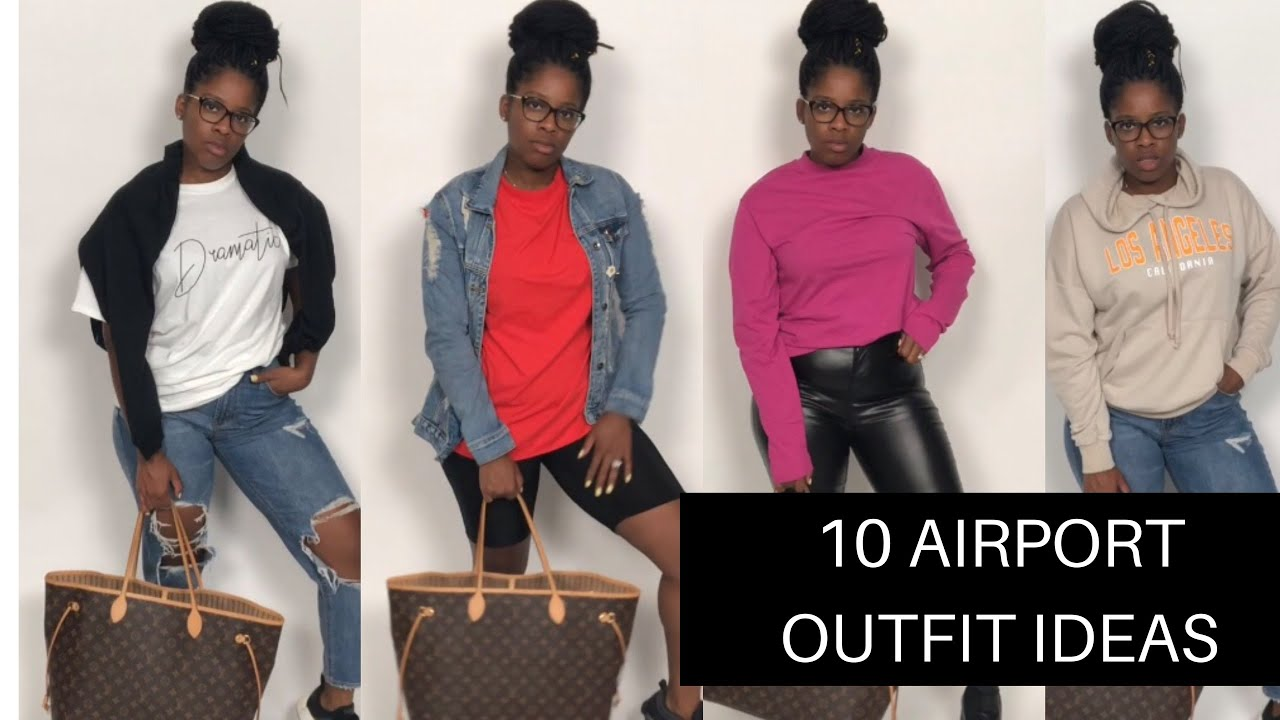 10 Cute and Comfortable Airport Outfit Ideas 9
