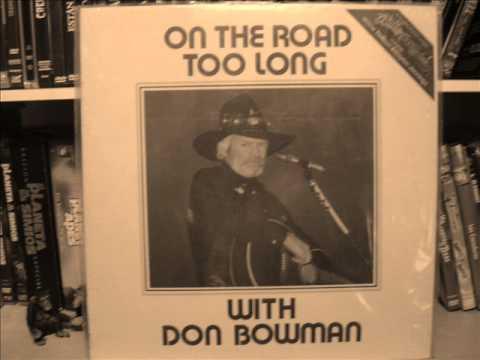 DON BOWMAN - WILLON AND WAYLEE 1981