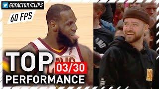 TIMBERLAKE APPROVES! LeBron James Full Highlights vs Pelicans - 27 Pts, Passes MJ | 2018.03.30