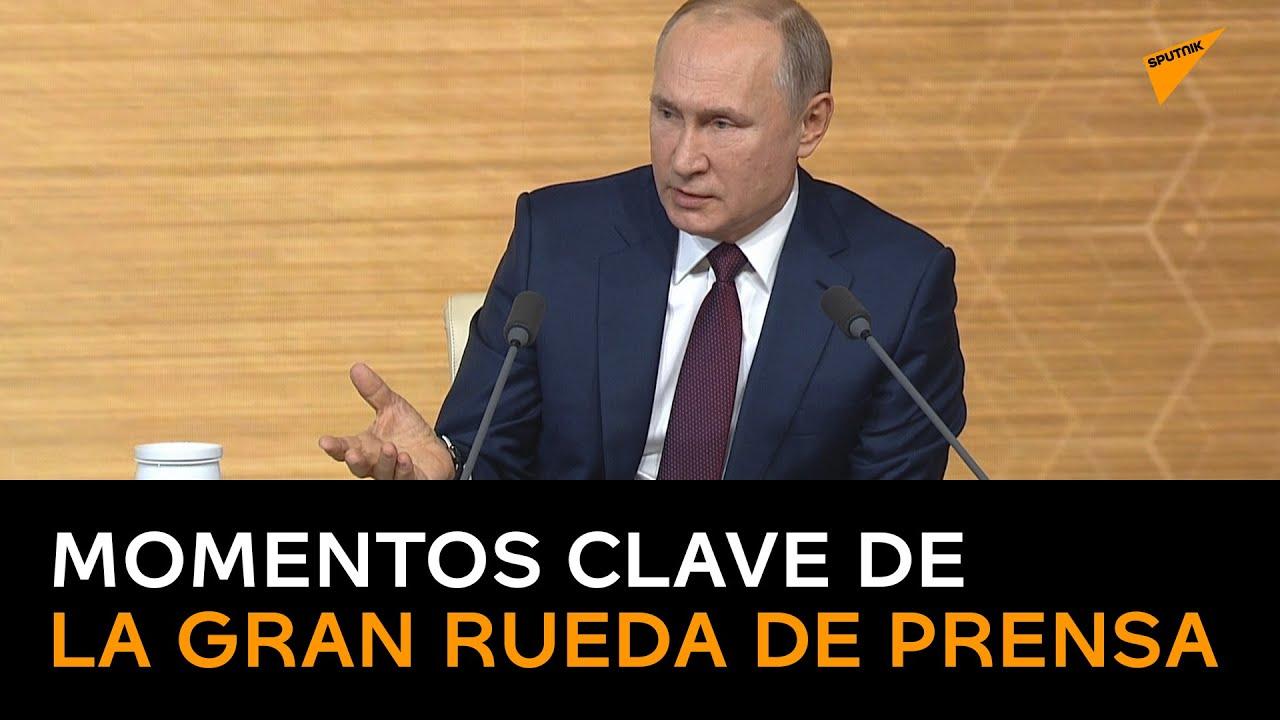 EL FIN DE LA HEGEMONIA DE EEUU / Lo más destacado de la conferencia anual de Vladímir Putin