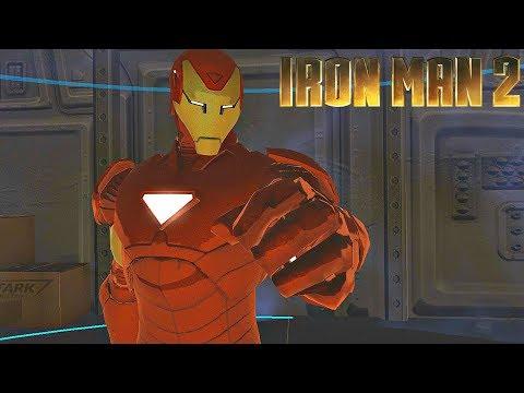 Extremis Iron Man Armor Gameplay - Iron Man 2 Game