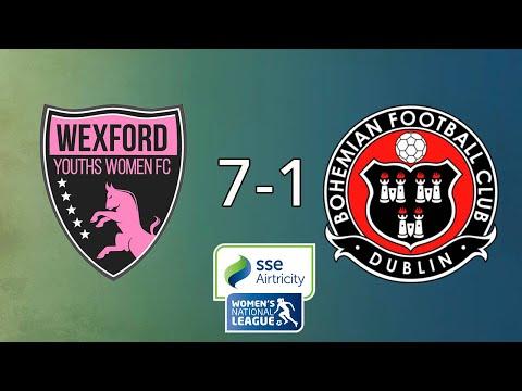 WNL GOALS GW7: Wexford Youths 7-1 Bohemians