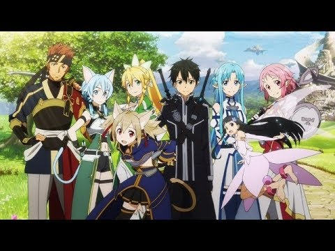 Sword Art Online S2 OP 2 (Courage) [English Dub] HD: AmaLee