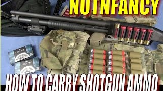 Ammo Carry for Tactical Shotgun: Ways That Work