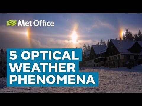 5 Beautiful optical weather phenomena