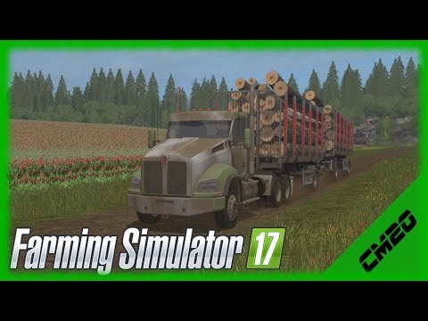 Farming Simulator 17 / PV17v3 / Ep.29 - Lumber Route and more Coffee