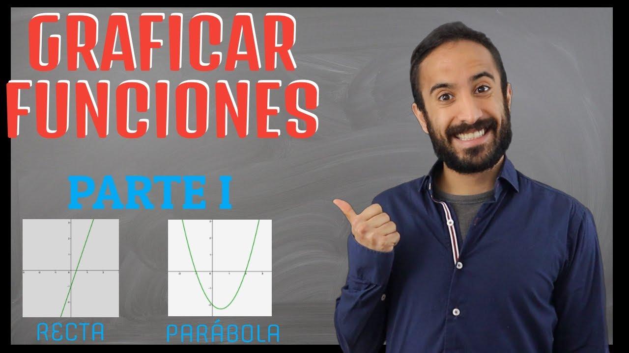 Cómo graficar FUNCIONES | Parte I: recta y parábola | Álgebra Para Todos