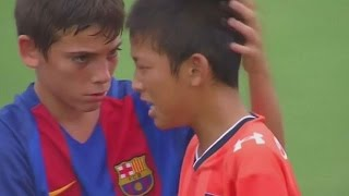 Tokyo: Barcelona youth team comforts losing Japanese footballers
