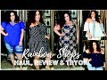 Rainbow Shops Plus Size Haul and Try On