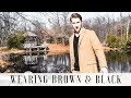 How to Wear Brown & Black | Winter Fashion Tips in 3 Minutes | Andrew Jones-Brothers