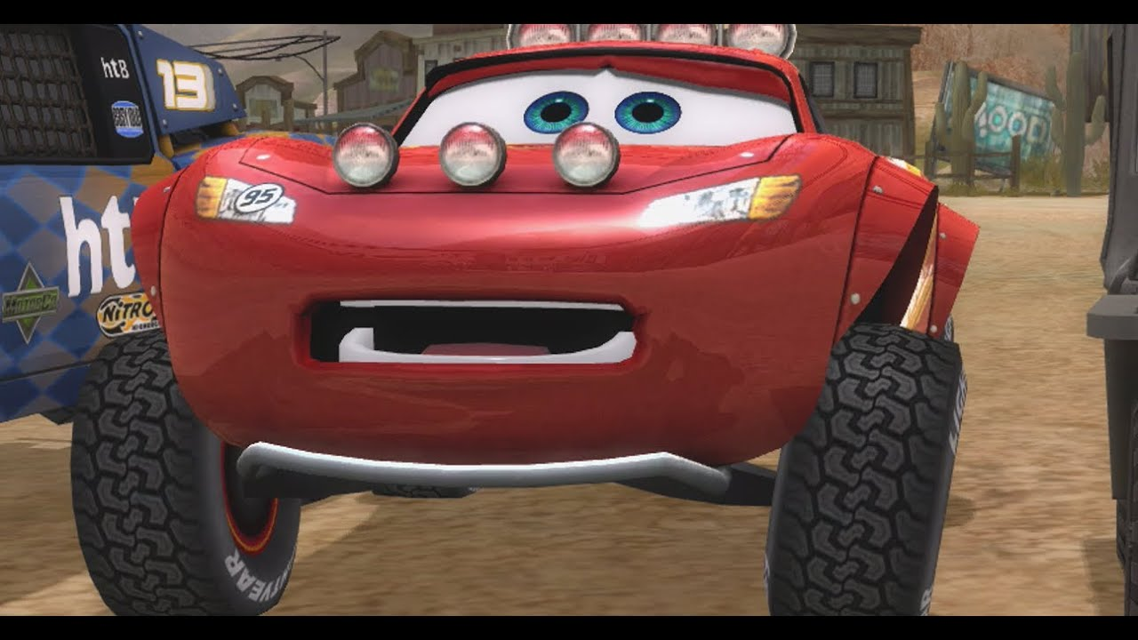 Cars Race O Rama Lightning Mcqueen Chick Hicks Gameplay Full Hd