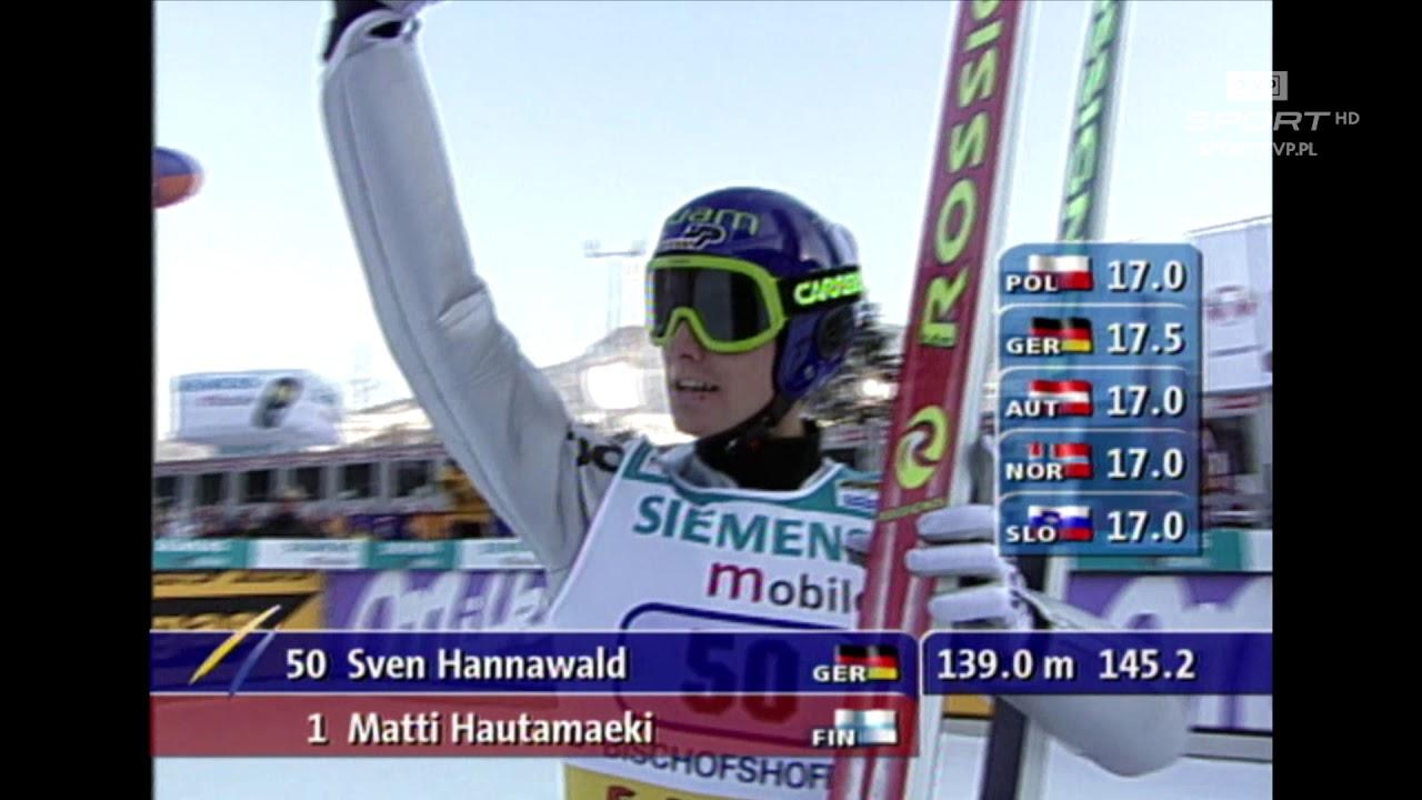 Bischofshofen 2002. Hannawald wygrywa wszystkie konkursy TCS!